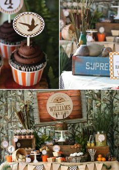 Duck Hunt Party Full of Fabulous Ideas via Kara's Party Ideas | KarasPartyIdeas.com #HuntingParty #DuckParty #PartyIdeas