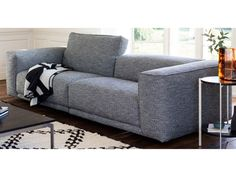 Kelston, designed by Matthew Hilton, is a large three seater contemporary sofa with simple clean lines that make it a perfect choice for modern homes.
