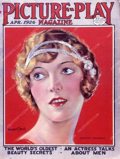 Dorothy Mackaill Picture Play magazine cover 35m-7815