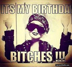 Ghetto Barbie Its My Birthday Quote