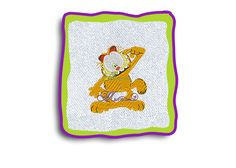 :)Bordado Garfield