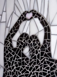 Love         #mosaic #design #art
