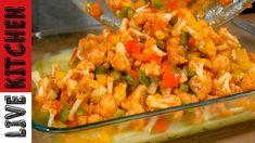 Kitchen Living, No Cook Meals, Vegetable Recipes, Finger Foods, Shrimp, Salsa, Vegan, Chicken, Baking