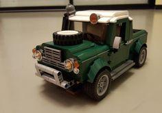 MOC 10242 Land Defender 90 pick up | by Prof3ssor