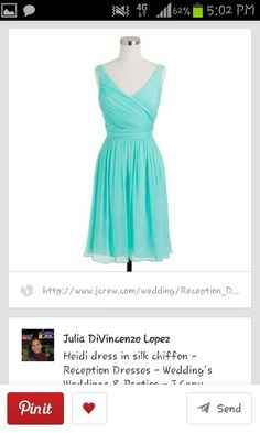 Bridesmaid dress. This is a dress (or something similar) that I hope everyone will like. Really perfect for a beach wedding.