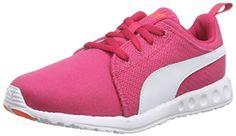 Puma Carson Runner CV, Unisex-Erwachsene Laufschuhe, Pink (rose red-white-fluo peach 02), 40 EU (6.5 Erwachsene UK) - http://uhr.haus/puma-6/puma-carson-runner-cv-unisex-erwachsene-pink-rose