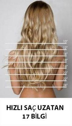 Saçlarınızı daha hızlı uzatacak 17 önemli bilgi