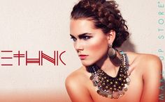 Make Up Store Ethnic Spring Look 2012.