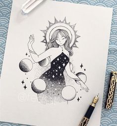Inktober Art Inspiration & Ideas by Feefal Sad Drawings, Dark Art Drawings, Pencil Art Drawings, Art Drawings Sketches, Cute Drawings Tumblr, Ink Illustrations, Illustration Art, Arte Sketchbook, Art Challenge