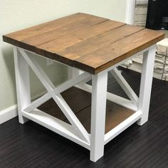 the Future of Western Furniture and Design Western Furniture, Decor, Modern Farmhouse Table, Farmhouse End Tables, Table, Kitchen Design Diy, Western Home Decor, Small Coffee Table, End Tables
