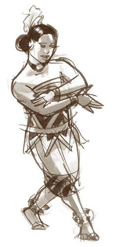 Tonga dancer