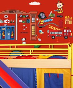 Take a look at this Firefighter Wall Decal Set by Mona MELisa Designs on #zulily today!