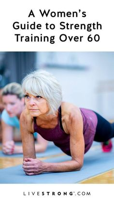 These weight training workouts for women over 60 can help build lean muscle, reduce fat, improve bone density, prevent chronic disease and improve mental health and cognitive function. Fitness Workout For Women, Planet Fitness Workout, Body Fitness, Health Fitness, Physical Fitness, Fitness Diet, Fitness Style, Fitness Logo, Fitness Weightloss
