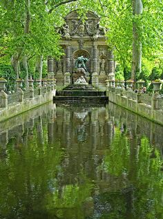 Park Pond Paris France Photograph  - Park Pond Paris France Fine Art Print