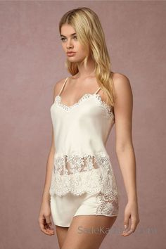 Shop our vintage-inspired bridal lingerie collection. BHLDN offers a variety of wedding lingerie perfect for your wedding night and beyond! Jolie Lingerie, White Lingerie, Pretty Lingerie, Beautiful Lingerie, Women Lingerie, Sexy Lingerie, Lingerie Sets, Lingerie Underwear, Luxury Lingerie