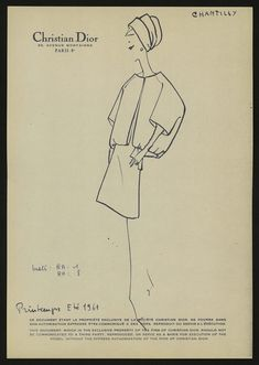 As the setting for its cruise 2019 show, Dior chos Vintage Dior, Christian Dior Vintage, Mode Vintage, Vintage Fashion, Fashion Design Sketchbook, Fashion Sketches, Dior Fashion, Fashion Art, Vintage French Posters