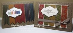 Panels - two cool masculine cards