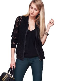Definitions Lace Jacket | littlewoods.com