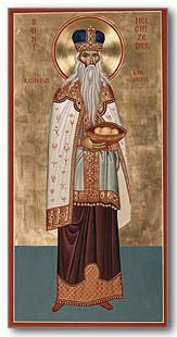 Who was Melchizedek? I hear his name mentioned in the Eucharistic prayer at Mass. Melchizedek (also spelled Melchisedech) appears in the Book of Genes...