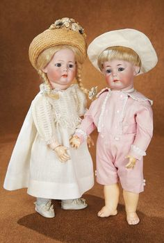 Kammer and Reinhardt,circa 1912,from their art character series,this doll and his companion,#126,were once owned by the Campbell children of the Campbell Soup company,according to oral provenance.