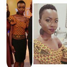 short natural hair for African American women/ black women