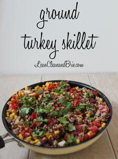 Ground Turkey Skille