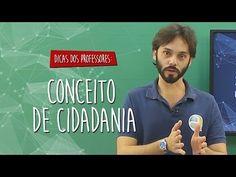 #Dica dos Professores - Sociologia - Conceito de Cidadania - YouTube