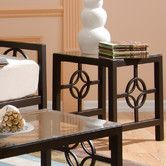 Found it at Wayfair - Medallion End Table