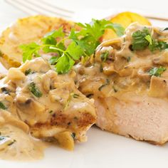 Chicken and mushrooms are a winning combination for flavor and make for a tasty dish.