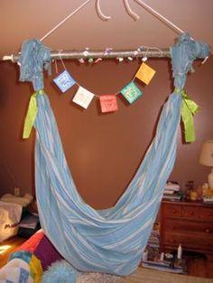 DIY baby hammock