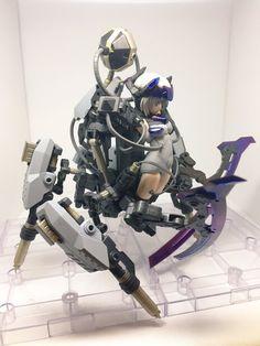 埋め込み Character Concept, Character Art, Character Design, Anime Figures, Action Figures, Frame Arms Girl, Cool Robots, Futuristic City, Figs