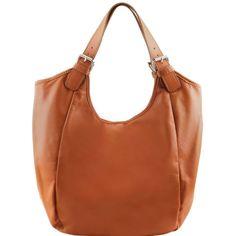 Gina - Bolso shopping en piel para mujer