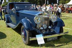 Rolls Royce Phantom II.Produced from 1929 to 1935, the Phantom II was a large improvement over the previous Phantom I. Both cars shared much the same chassis design with the Phantom II having a lower ride height and improved semi-elliptic springs. The large Inline-6 powerplant featured an aluminium head and a twin ignition system which was also new on Phantom II cars