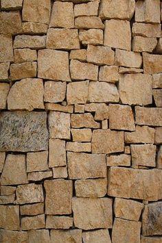 6254 Brown Stone Piled Brick Wall Texture Backdrop