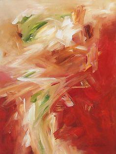 Oasis: Karen Scharer: Acrylic Painting - STUDIO SALE - Artful Home