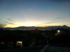 Sunrise in Malang, Indonesian