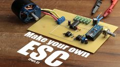 Hobby Electronics, Electronics Projects, Electrical Projects, Electrical Engineering, Make Your Own, Make It Yourself, How To Make, Arduino Cnc, Solar Battery Charger