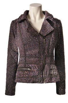 Savage Culture: Sophisticated Patricia Wool Short Coat, only on wildcurves.com!
