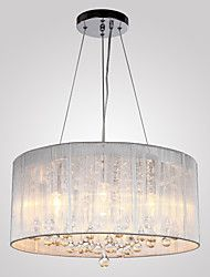 Chandelier ,  Traditional/Classic Chrome Feature for Crystal Metal Living Room Bedroom Dining Room Study Room/Office Entry Hallway – CAD $ 196.81