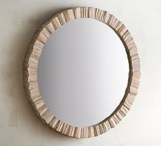 Nice for PR Coastal living calls for the natural beauty of organic elements, and with driftwood this realistic framing our generously sized round mirror, it will look like you personally collected each piece during long walks on the beach. Unique Bathroom Mirrors, Coastal Mirrors, Bathroom Ideas, Bedroom Mirrors, Rustic Mirrors, Guest Bathrooms, Gold Bathroom, Chic Bathrooms, Wall Mirrors