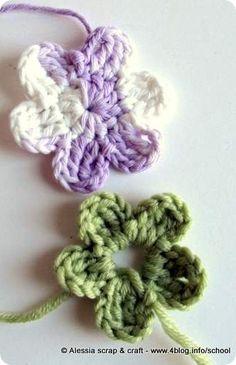 [tutorial] Come si fanno i fiorellini a crochet?