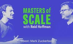 """Incredible episode of """"Master of scale"""" with Reid Hoffman! Mark Zuckerberg is the guest and gives away some golden nuggets.   --  #code #coding #programming #development #html #css #javascript #js #ror #rails #rubyonrails #backend #api #web #developer #programmer #coder #nerd #geek #startup #entrepreneur #zuck"""