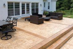 Concrete Patio Ideas | Stamped Concrete Cincinnati, Ohio, Decorative Stamped Cement Finishes
