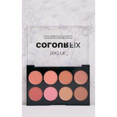 Technic Colour Fix Cream Blush & Bronze Palette ($6.18) ❤ liked on Polyvore featuring beauty products, makeup, cheek makeup, pink and palette makeup