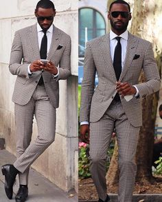 Davidson Frere striped suit