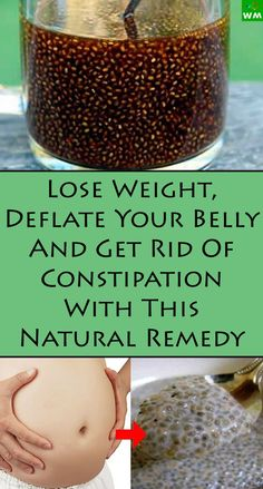 This remedy will help you get rid of all the excess feces and make you shed a couple of pounds along with it.
