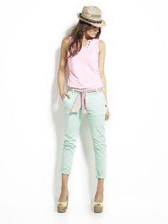 Pink Top & Blue Pant                                                    le temps des cerises
