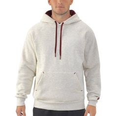 Russell Big Men's Fleece Pullover Hood, Size: 3XL, Beige