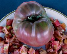 Image result for carbon heirloom tomato
