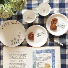 無印良品「おえかきペン」で自分好みのおしゃれ食器をリメイク♡ - Locari(ロカリ)